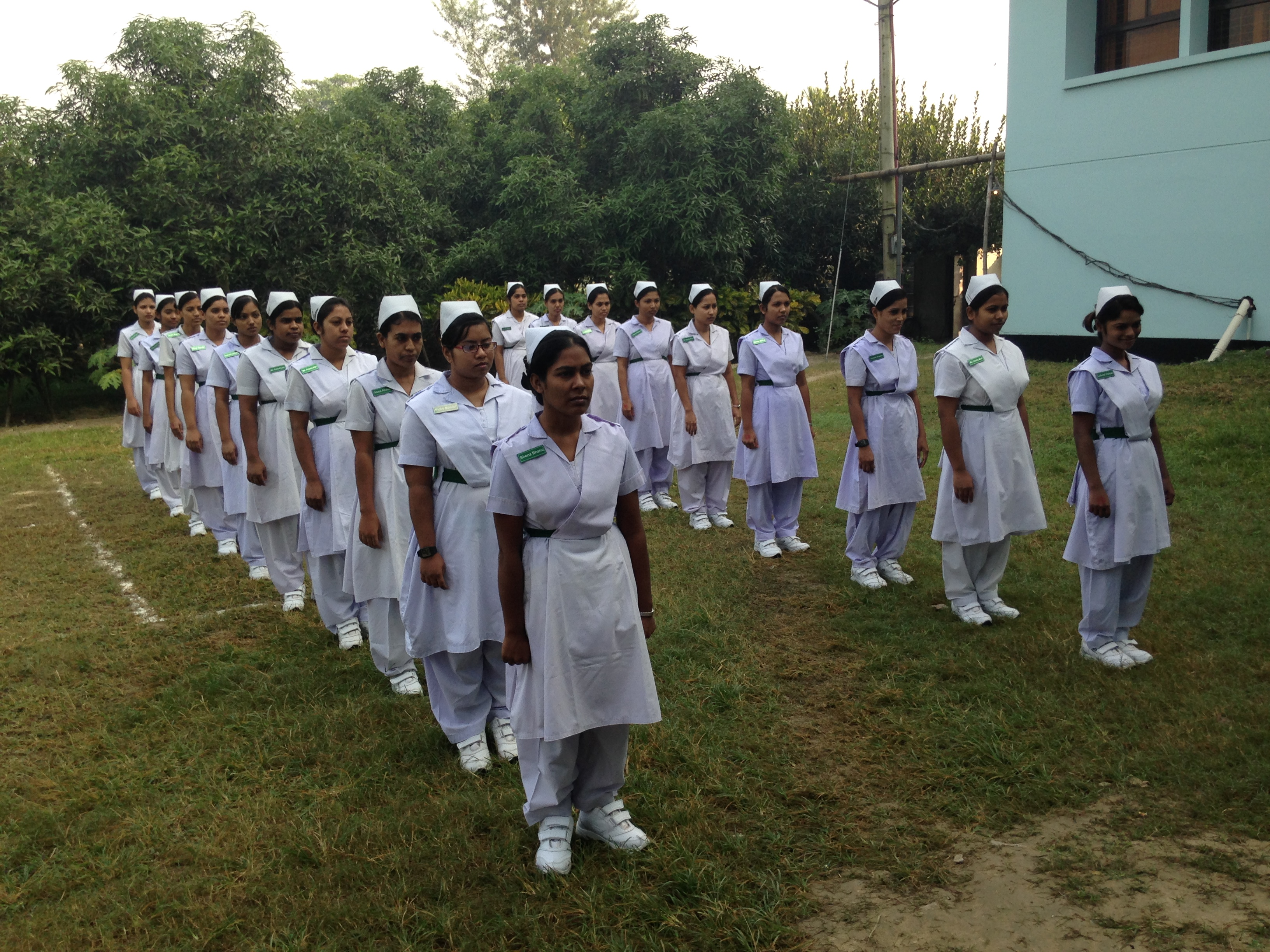 student nurses in bangladesh