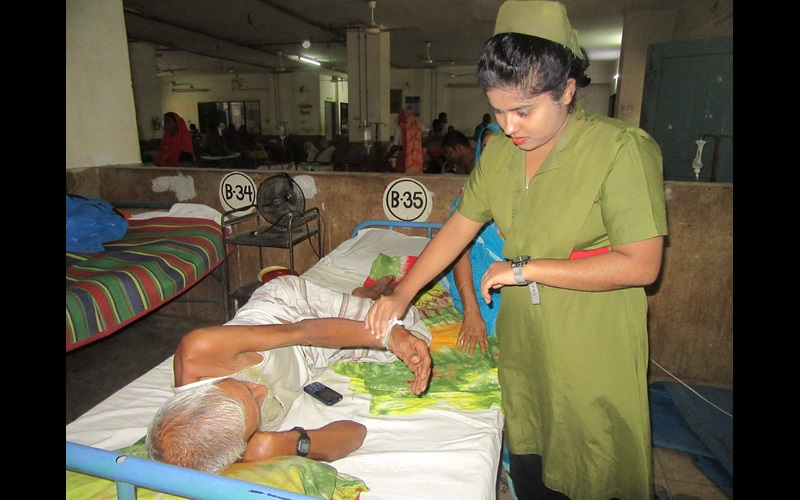 nurse in bangladesh